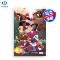 现货蜘蛛侠死侍第4卷#19-22合集合订本英文原版全彩漫画Spider-Man/Deadpool Vol. 4 Seri