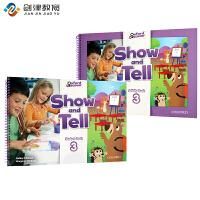 原版进口牛津大学出版社幼儿英语教材 show and tell 3级别入门级 3-6岁幼儿英语书籍 pyp国际幼儿园书