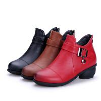 秋冬舞蹈靴 舞蹈鞋�底真皮跳舞鞋�F代舞加�q舞靴 女
