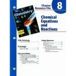 【预订】Holt Chemistry Chapter 8 Resource File: Chemical Equati