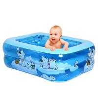 乐亲婴儿游泳池 充气戏水池 儿童宝宝海洋加厚泳池 家庭水池