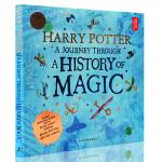 哈利波特 一场魔法历史的旅程 魔法史之旅 英文原版小说 Harry Potter A Journey Through