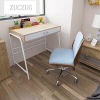 ZUCZUG书桌简约现代家用单人迷你电脑桌简易小书桌写字台式经济型 +椅 否