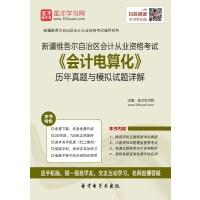 新疆维吾尔自治区会计从业资格考试《会计电算化》历年真题与模拟试题详解-网页版(ID:128898)