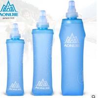 运动软水壶可塑性软水袋可折叠越野跑步水袋150/250/500ML