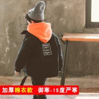 №【2019新款】冬天儿童穿的男童棉衣中大童加厚外套冬装洋气棉袄儿童工装羽绒潮