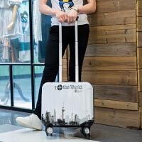 18寸登机密码箱16寸小行李箱女迷你可爱行李箱18寸万向轮旅行箱子