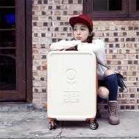 拉杆箱女士万向轮密码箱包行李箱女学生旅行箱子母箱子222426寸