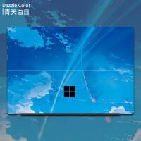 微软new surface pro6贴膜平板电脑surface pro5创意贴纸surface go 【背贴+侧边贴】