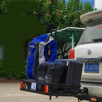 汽车行李架SUV越野车自行车架拖车钩折叠货架后挂式方口拖车框架 TW6895