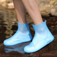新款防水套耐磨防滑加厚下雨鞋子套雨靴套水鞋女男时尚儿童雨鞋套