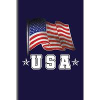 【预订】USA: American Flag USA Independence Day notebooks gift