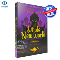 预售英文原版 A Whole New World 一个全新的世界 迪士尼神话魔法奇幻童话故事书 青少年儿童文学读物 冒险