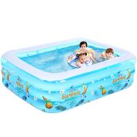家用儿童充气游泳池婴儿加厚宝宝超大号保温家庭海洋球池 抖音