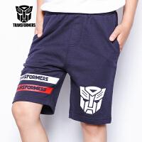 【促】变形金刚童装男童夏装2018夏季新款全棉短裤中裤