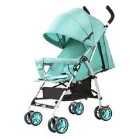 婴儿推车轻便新生儿可坐可躺折叠宝宝四季通用铝合金伞车