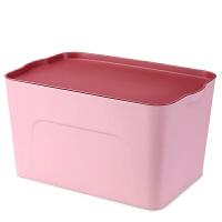 大号塑料收纳箱衣服玩具整理箱厨房杂物储物箱周转箱内衣物盒子