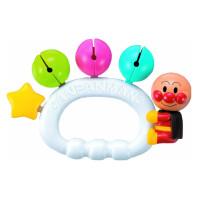 面包超人手摇铃新生儿婴儿玩具摇铃牙胶玩具星星摇铃抖音