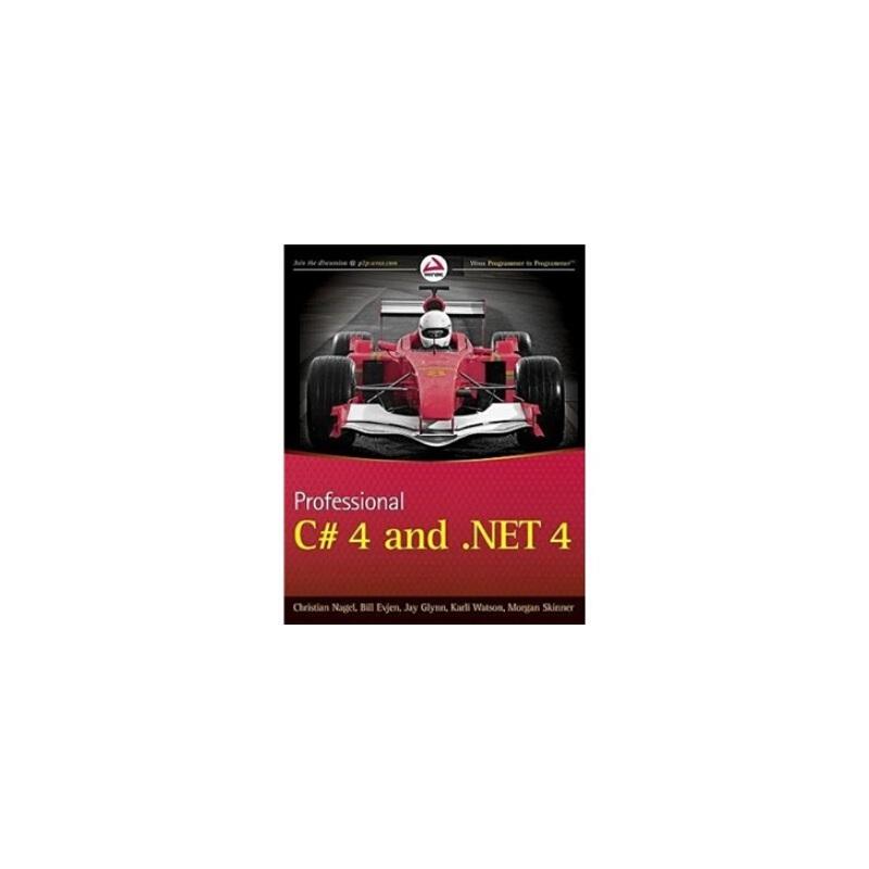 【预订】Professional C# 4 and .Net 4 9780470502259 美国库房发货,通常付款后3-5周到货!