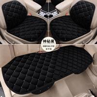 汽车坐垫冬季毛绒保暖三件套无靠背座椅垫座垫单片冬天车垫子毛垫