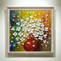 欧式客厅装饰画沙发背景墙挂画3d立体画现代简约走道餐厅浮雕油画