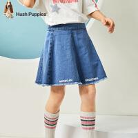 【2件5.5折券后预估价:134.75元】暇步士童装女童裙子春装新款儿童半身裙棉洋气中大童牛仔短裙