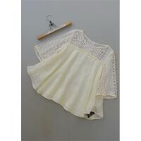 加码宛[H7A-211]专柜品牌正品苎麻女士打底衫女装雪纺衫0.18KG