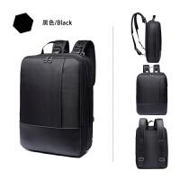 苹果戴尔双肩包旅行手提电脑包 .6寸男笔记本背包 商务黑(一包多用) 寸