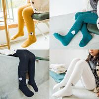 女童连裤袜春秋薄款儿童打底裤中加厚针织连体袜宝宝长筒袜子