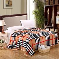 珊瑚绒毯子盒装品空调毯午睡薄款毛巾小被子法兰绒毛毯