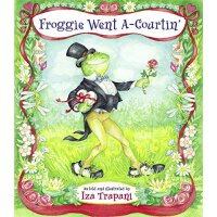 英文原版 Froggie Went A-Courtin