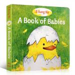 【发顺丰】A Book of Babies 英文原版绘本 宝宝的书 低幼纸板书 婴儿绘本 一本关于宝宝的书 幼儿园学习
