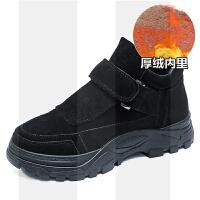 鞋子女2018冬季新款马丁靴女英伦加绒小短靴韩版学生休闲厚底棉鞋SN4958 厚绒