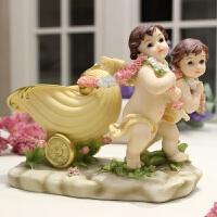 创意丘比特摆件家居装饰品摆设门厅钥匙收纳客厅插花摆设结婚礼物