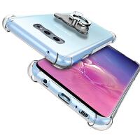三星s10手机套 三星S10E手机保护壳 三星s10/s10E/s10Plus手机壳套 透明硅胶全包防摔气囊保护套