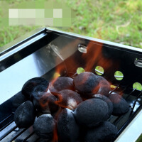 【支持礼品卡】烧烤配件 烧烤工具 果木炭 竹木碳 球形机制炭jf6
