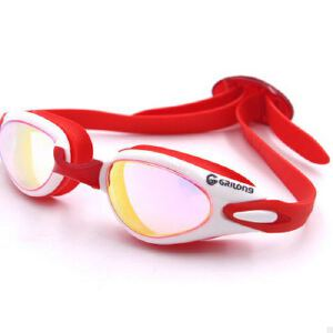泳镜成人眼镜 游泳镜防水防雾 高清防紫外线电镀硅胶大框