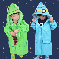儿童雨衣男童女童加厚雨披韩版卡通动物小学生小孩子环保雨衣
