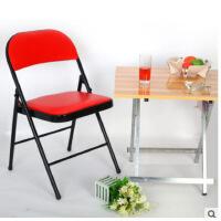 电脑椅子折叠椅子办公椅可折叠电脑凳子简约轻便多用会议记者专用5vu