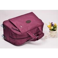 手提拉杆包旅行包男女牛津布皮行李包防水袋大容量提包型旅行箱