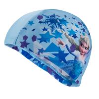 新款儿童泳帽针织卡通可爱时尚小马宝莉泳帽舒适布质泳帽