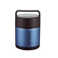 不锈钢真空保温饭盒3三层便当盒大容量保温桶提锅 1.6L 炫蓝色