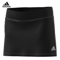 阿迪达斯(adidas)运动裤裙女款夏跑步运动裙网球裙羽毛球裙裤