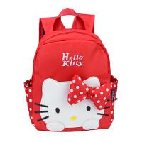 宝宝书包幼儿园女孩儿童可爱小孩双肩包卡通KITTY猫米老鼠