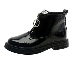 WARORWAR 2019新品YM151-R726冬季欧美平底鞋舒适女鞋潮流时尚潮鞋百搭潮牌切尔西靴短靴
