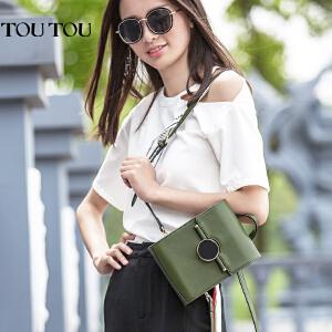 toutou2017夏季新款包包女韩版百搭时尚双肩包多功能背包单肩斜挎