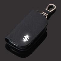 铃木天语sx4钥匙包锋驭维特拉钥匙套真皮遥控保护套扣男女士
