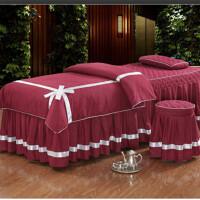 纯白色橘色和加宽定制薄床垫四季加厚款四季款春被芯乳胶美容床罩
