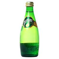 【中粮海外直采】Perrier巴黎水 矿泉水柠檬 330ml(法国进口 瓶)