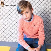 【3件3折:79.5元】暇步士童装秋装新款男童套头针织衫中大童线衣儿童时尚毛衣